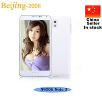 Wholesale Unlocked Dual Core Dual Sim card Dual Camera New Cheap NOTE N9006 Android SC6820 inch N9000 Note Smart Phone