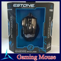 Wholesale Gaming mouse DPI X7 Gaming mouse with Button USB Wired Optical Game Mice