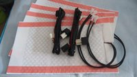Wholesale round carbon fiber car seat heater kits car seat heating pads car heat cushion car heat pads