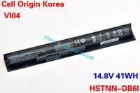 Wholesale Original Quality Korea Cell New Laptop Battery for HP HSTNN DB6I HSTNN DB6K HSTNN LB6J HSTNN LB6K VI04