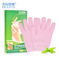 Wholesale Effective pair PILATEN SPA Gel Moisturizing Gloves Beauty Hand Repair Tool Skin Whitening Exfoliating Hand Care Gloves Mask
