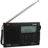 achat en gros de tecsun radio-TECSUN PL660 PLL SSB VHF Band AIR Radio FM stéréo / MW / SW / LW Double Conversion Receiver Y4133A