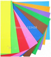 Wholesale Child Multicolour Eva Sponge Handmade Paper Cut Craft Decoupage k Foam Diy Cutting colours