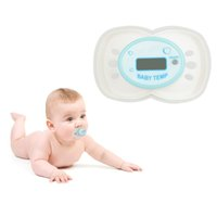 adult baby pacifier - Baby Care Baby Nipple Mouth Thermometer LCD Digital Pacifier Thermometer DT A
