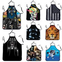Wholesale animal print aprons