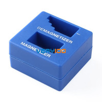 Wholesale Magnetizer Demagnetizer Magnetic Pick Up Tool Screwdriver Tips Screw Bits Blue order lt no track
