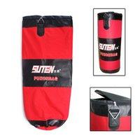 Wholesale Training Fitness MMA Boxing Bag Three Layer Thicken Hollow Muay Thai Kick Punching Bag Sandbag with Chain cm cm cm