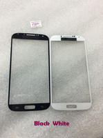 Wholesale Outer glass For Samsung Galaxy S4 I9500 Faceplates Front Outer Touch Screen Digitizer Lens Glass