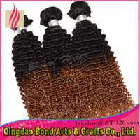 Cheap kinky curly virgin hair Best ombre hair extensions