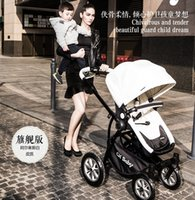 Wholesale 2015 chbaby Black Fashion Baby Strollers Summer Suspension Baby Cart Portable Stroller High Quality And Inexpensive Strollers Umbrella Car