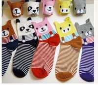 Wholesale New Arrived High Quality Panda Cotton Socks Multi Color Women s Girl s Students Cute Sock Five Color pairs dozen