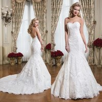 cover wedding - Exquisite Sweetheart Wedding Dresses with Back Covered Button Lace Cheap Wedding Dresses