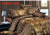 achat en gros de draps en coton de literie queen-Vente en gros-2015 NOUVEAU 3D lit ensembles de literie literie ensemble de coton 4pc comprennent housse de couette Housse de lit oreiller) Taille Queen Livraison gratuite