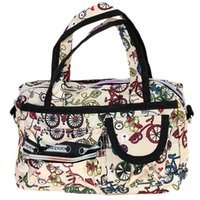 Wholesale Fashion Women Holiday Style Waterproof Crossbody Shoulder Bag Tote Washable Large Handbag Luggage Bags ic641894