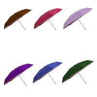 best fishing umbrella - Hot Salw Best seller Ultra Light Exceed Short QingYuSan Fifty Percent sun umbrella rain women and men UV Prevent Umbrella May