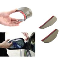Wholesale Lowest price Car universal Rain Shield Flexible Peucine Car Rear Mirror Guard Rearview mirror Rain Shade Worldwide Store