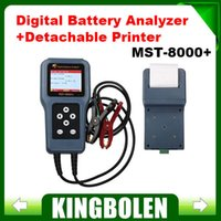 Wholesale 2015 Top selling MST Digital Battery Analyzer with Detachable Printer mst Auto scanner