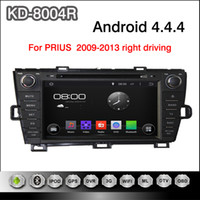 android dvd drive - Pure Android inch Capacitive Touchscreen Car DVD Player For Toyota Prius Right Driving