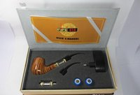 Cheap E-pipe Pipe 618 electronic cigarette e cigarette cig Set Series smoking pipe style electronic smoking pipe Clearomizer drop shipping