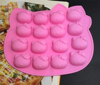 Nuova torta modo decora fondente ciao stampi in silicone gattino di ghiaccio di figura gelatina torta al cioccolato per la torta di sapone pan