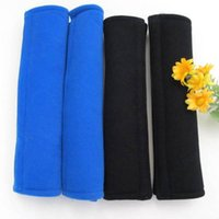 Wholesale 1 Pair Cotton Safety Car Seat Belt Shoulder Pad Soft Comfortable Harness Protective Cover Cushion Pad