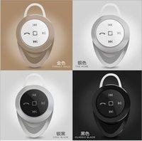 Cheap Mini Stereo Bluetooth Headphone Headset Earphone multiple colors A1