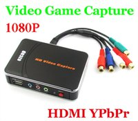 Cheap Newest HD Video Capture EZCAP 1080P Game Capture HDMI YPbPr Recorder Box into USB Disk with Edit Software for XBOX One 360 PS3