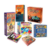 Wholesale Express Shipping DIXIT children board games table FULL SET fun family playing cards English Russian Portuguese
