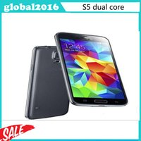 Cheap 2015 hot 5.1INCH S5 i9600 Dual Core MTK6572 Smart Phone metal Android 4.4 512M 4GB 3G mobile phone in stock a54b
