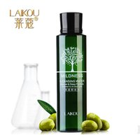Wholesale Korean Cosmetics Olive Cleansing Water Makeup Remover Shrink Pores Cleanser Quick Dissolve Deep Clean Purify Moist Mild order lt no track