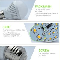 5w led bulb - 5pcs Led Lamp E27 B22 E14 v V w Led Bulb light Degree Warm Cold White Led spotlight