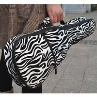 Wholesale Hot Selling Good Quality Musical Instrument Bags Fast Shipping Zebra Printing Thickened Inch Size Concert Ukulele Bag A3
