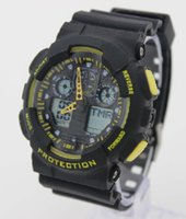 g-shock - 2015 NEW Multi Function Military Shock Sports Watch LED G Watches Analog Digital Waterproof Alarm AAACSR Electronic Watch