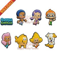Wholesale Hot Christmas GIfts Bubble Guppies PVC Fridge Magnets Blackboard Magnets PVC Magnets Stickers Office Supplies Stationery