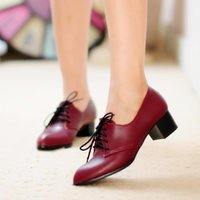 air pump shoes - casual lace up low heel cm pointed toe pumps Ankle shoes air office women shoe
