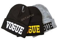 Wholesale 2015 HOT Colors VOGUE Beanie Sport Winter Cap Hat Beanie Knitted Winter Hats For Men And Women Fashion Caps DHL LB24