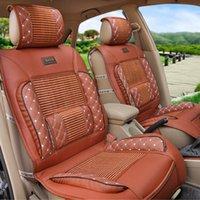 pvc leather car - new car seat cushion Viscose fiber PVC leather car seat cover cushion seat four seasons general