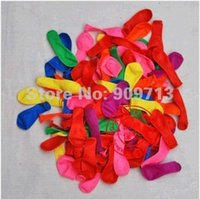 air gun targets - HOT Water fight latex air gun target shooting balloons apples ball christmas decorative play toys color mix DHL Free