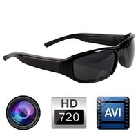 Cheap spy hidden sunglasses camera Best mini hidden dvr