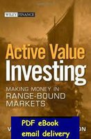 author marketing - Active Value Investing Making Money in Range Bound Markets Wiley Finance by Vitaliy N Katsenelson Author