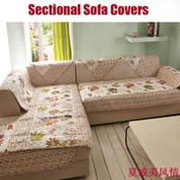 sofa cover - 1pc brown embroidered flower sofa covers for home cover sofa towel sofa cloth sectional covers blanket sofa towel