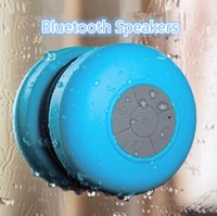 Wholesale Wireless Bluetooth Speaker Dustproof Mini Speakers Handfree Sucker Colorful BTS HOT Good Quality Free DHL