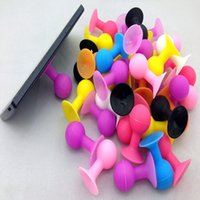 ball suction - Mobile Phone Stand Bracket Holder Silicone Octopus Suction Ball Mounts Holders for Cell Phone iPhone iPod Touch Samsung Stander