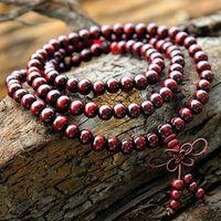 Wholesale New fashion wood bead bracelet natural wood buddha beads bracelets multilayer style women men jewelry