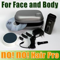 no no hair removal - 2014 New Arrival No No hair pro5 No No hair Pro3 Hair Removal System with levels of temperature Pink Blue chrome in Stock Churchill