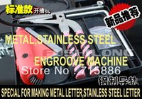advertisement machine - metal engroove stainless steel aluminum engroove machine advertisement metal letter making machine