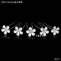 Wholesale Flower Crystal Rhinestone Women Wedding Bridal Prom Hair Pin Clips Hair Jewelry Price