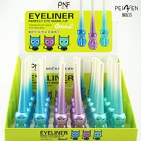 Wholesale authentic PNF cat light very fine easy draw liquid eyeliner liquid eyeliner waterproof no shading