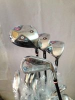 Wholesale Complete Women golf clubs man FL driver fairway woods man FL irons PAS golf putter set