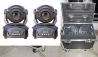 Wholesale With Flightcase X W LED moving head spot light DMX channels Disco KTV DJ Bar stage lighting